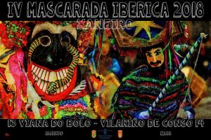 Cartel Mascarada Ibérica 2018