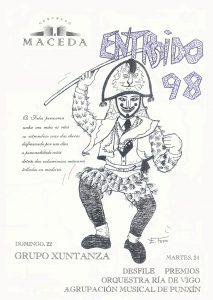 Cartel Entroido Maceda 1998